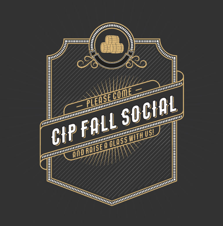 Fall Social & Fundraiser invitation image