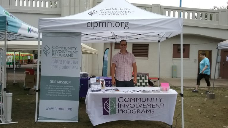 CIP booth at the MN State Fair