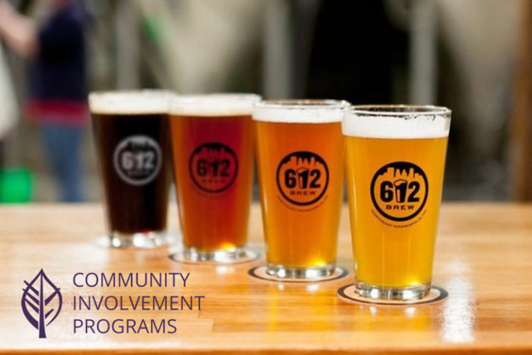 Fall Social & Fundraiser event at 612 Brew