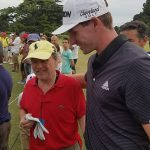 Brandon Matthews Hugs Fan With Down Syndrome Who Yelled During His Final Putt